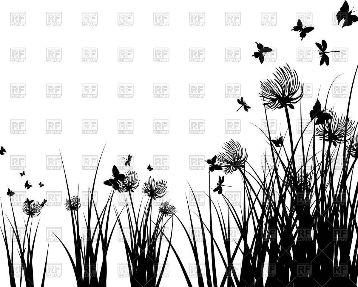 Meadow Plants Clipart