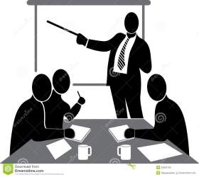 meeting clipart conference business convention training executive clip icon presentations discussion presentation background royalty booking contest creative season project clipground