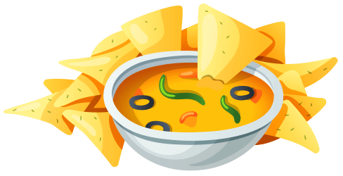 mexican food clipart transparent chips background nachos library party soup restaurant fast clip dip spanish nacho alt recipes cliparts title
