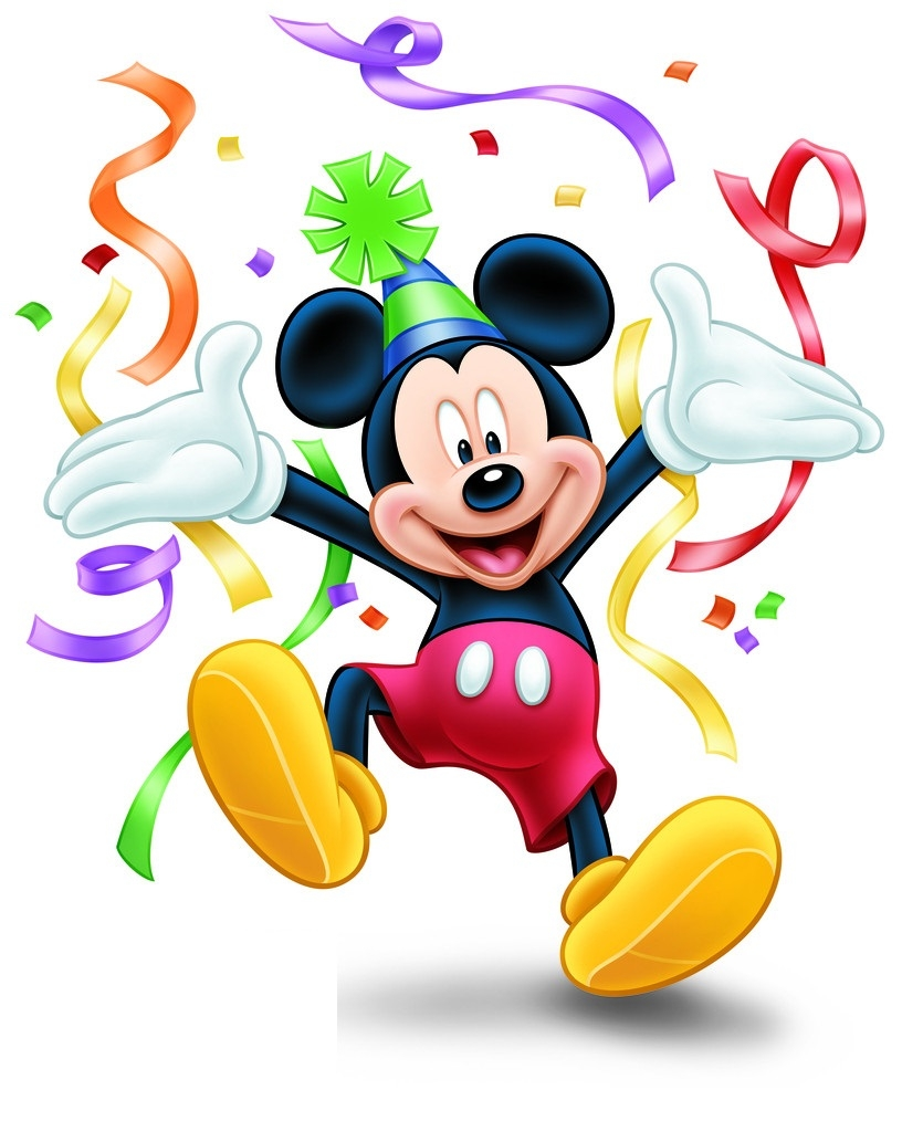 Mickey Mouse 1st Birthday Clipart Clipground