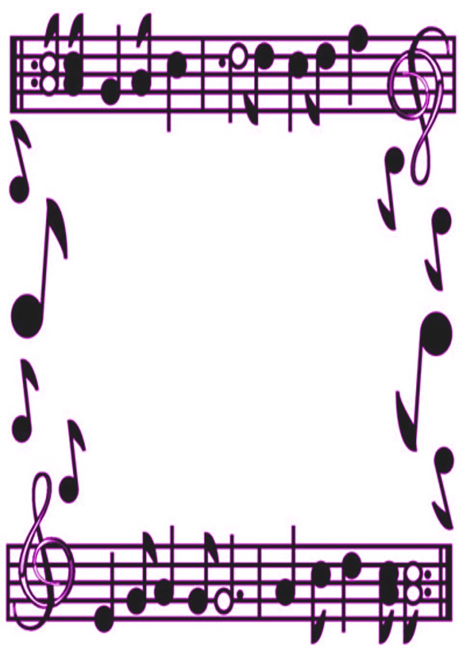 hight resolution of music border music note border clipart free images