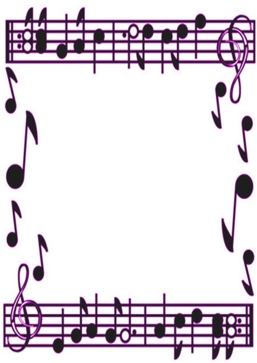 small resolution of music border music note border clipart free images