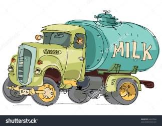 milk clipart tank truck tanker clipground type