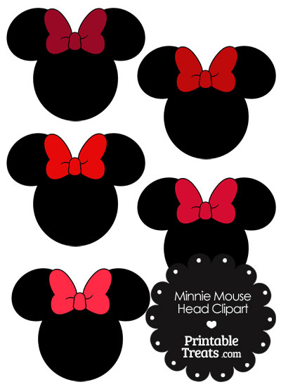 minnie mouse bow pattern