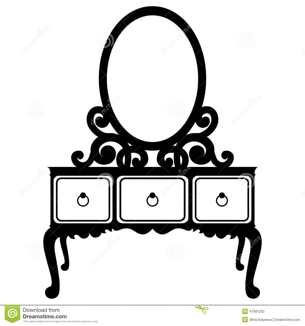 Mirror Clipart Silhouette