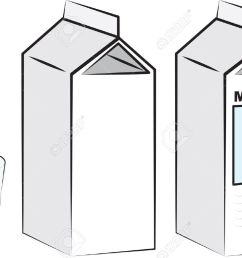 milk cartons and glass of milk royalty free cliparts vectors and  [ 1300 x 890 Pixel ]