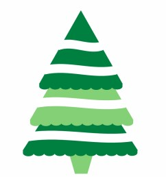 modern christmas tree clipart 2106091  [ 910 x 910 Pixel ]