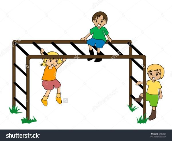 Monkey bars clipart Clipground