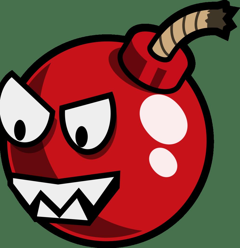 medium resolution of cartoon cherry bomb enemy remix by monsterbraingames