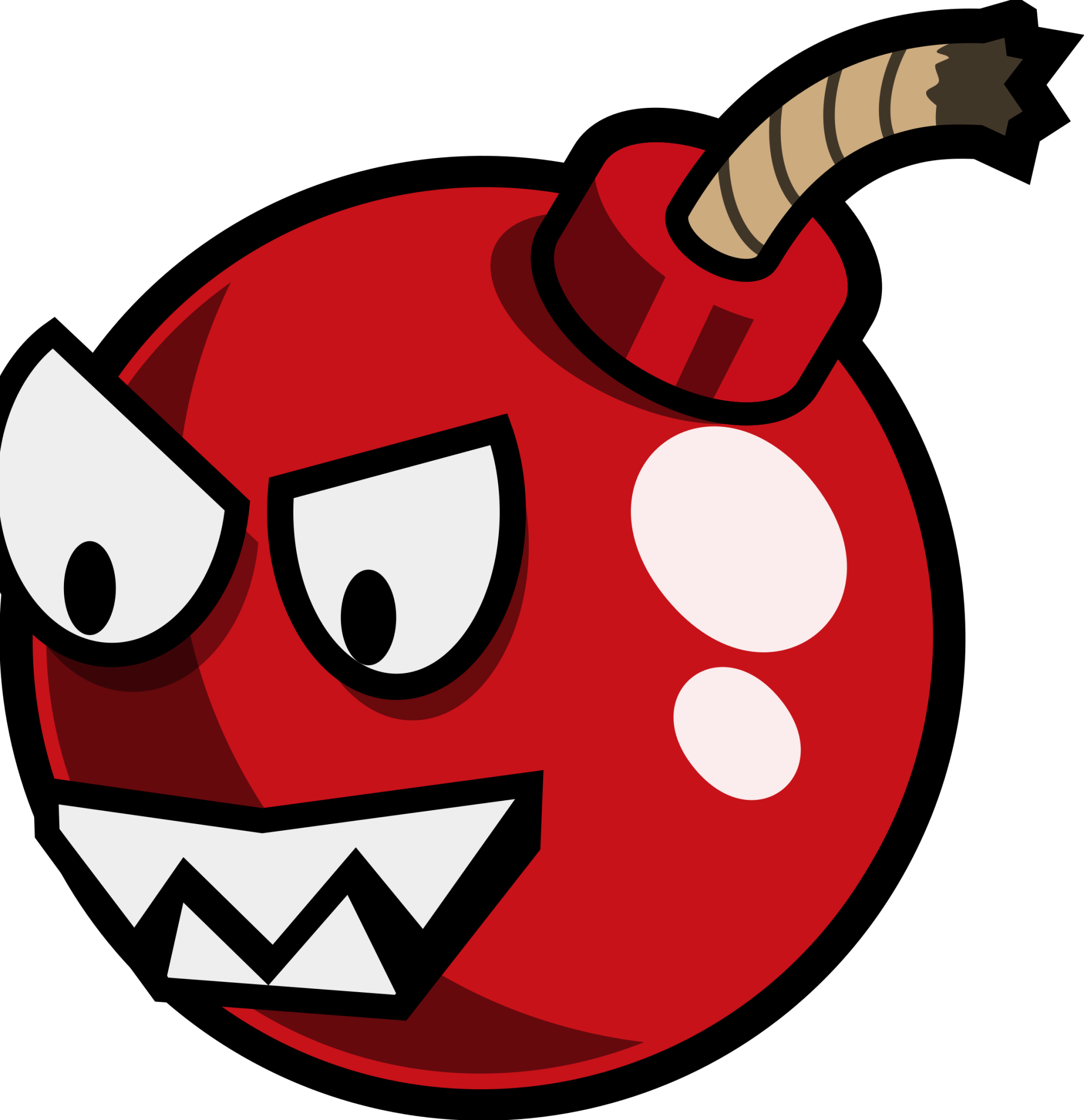 hight resolution of cartoon cherry bomb enemy remix by monsterbraingames