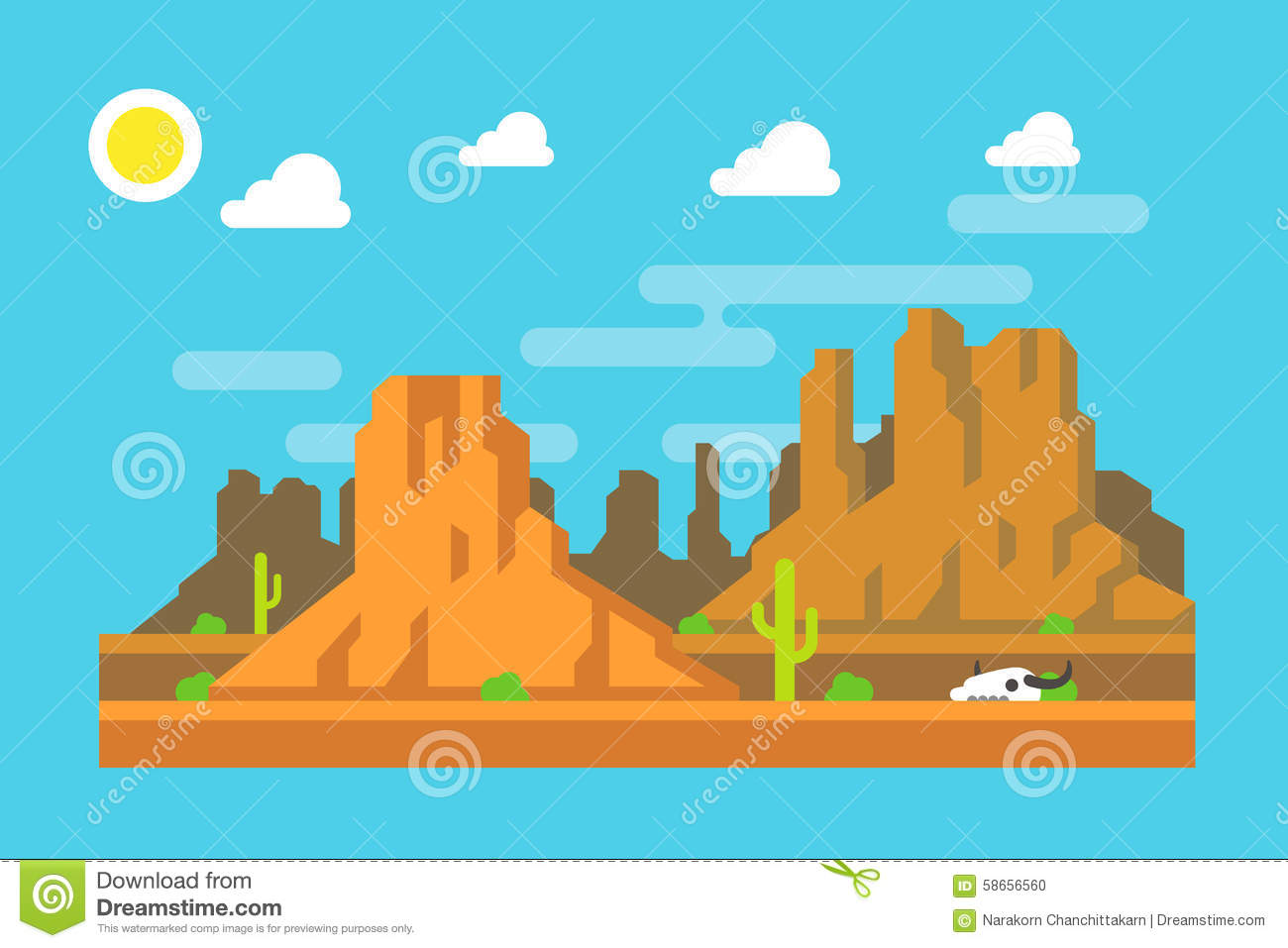 hight resolution of monument valley arizona clip art