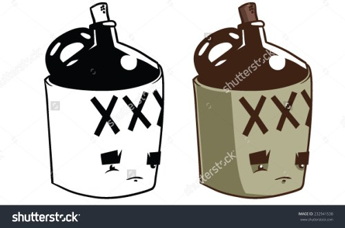 small resolution of cartoon moonshine jug vector clip art stock vector 232941538