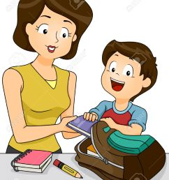 mother helping child clipart  [ 1031 x 1300 Pixel ]
