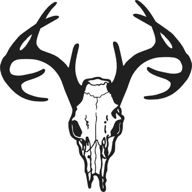 Mounted Deer Head Clipart