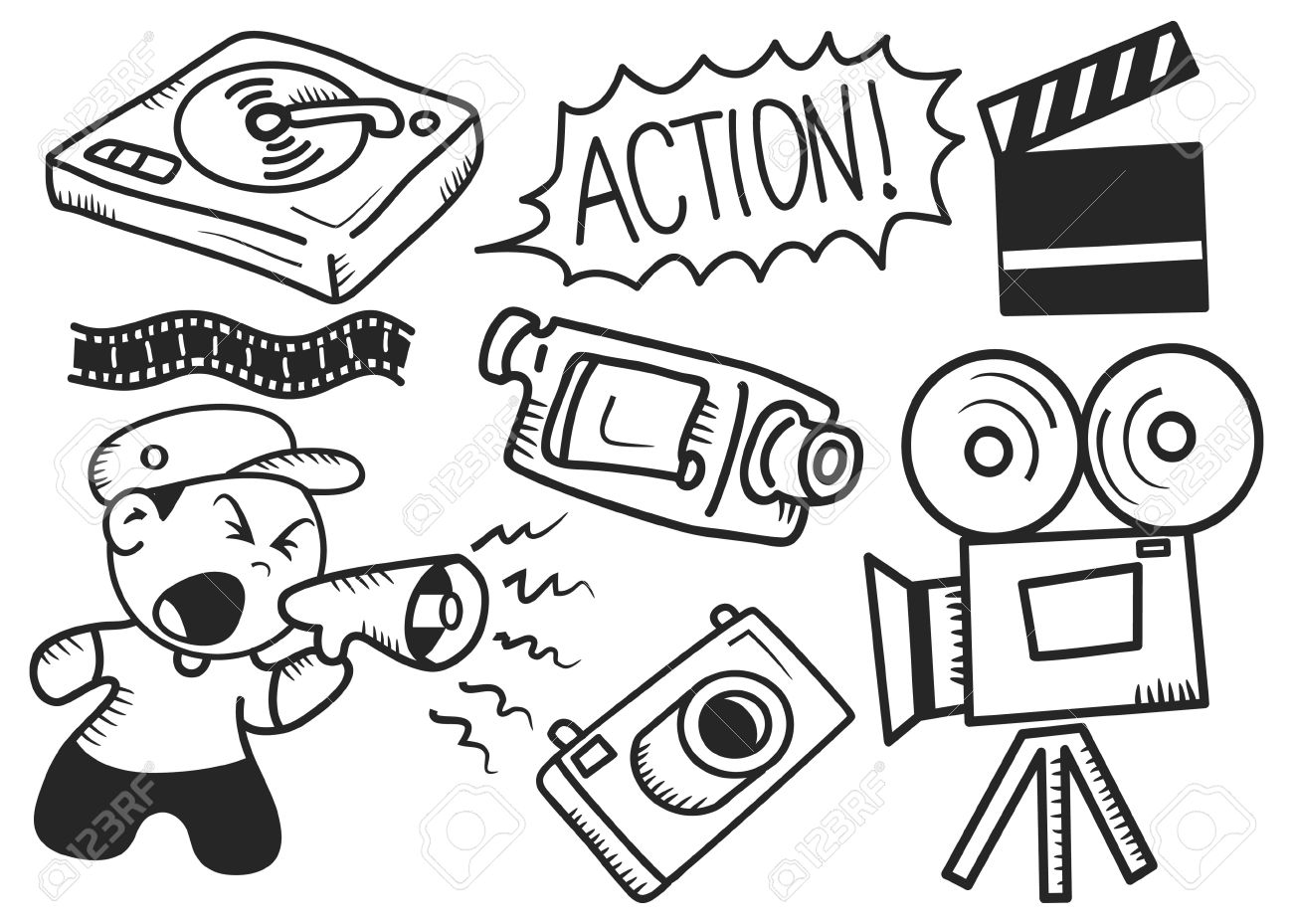 Movie Industry Clipart