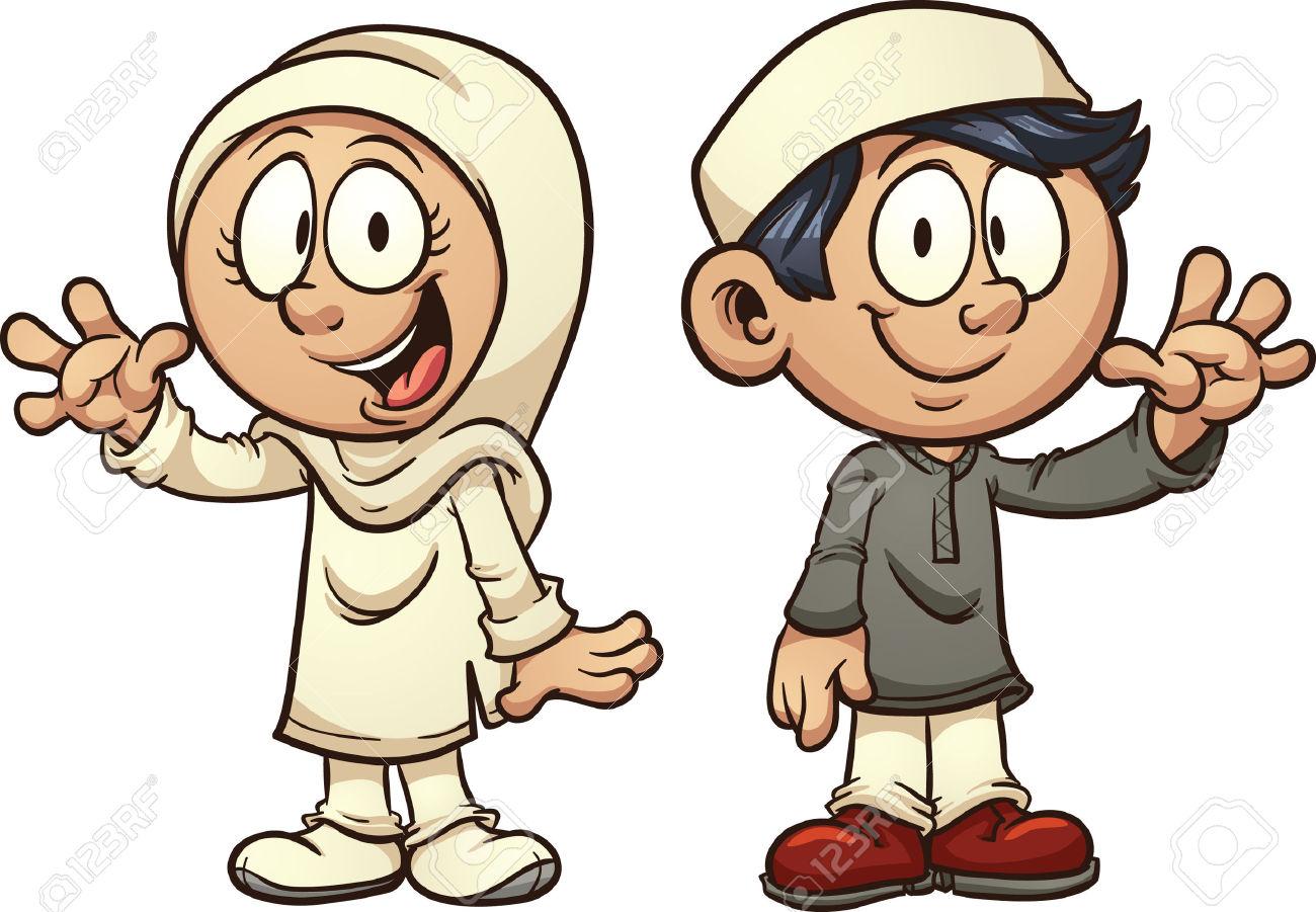muslim children clipart  Clipground