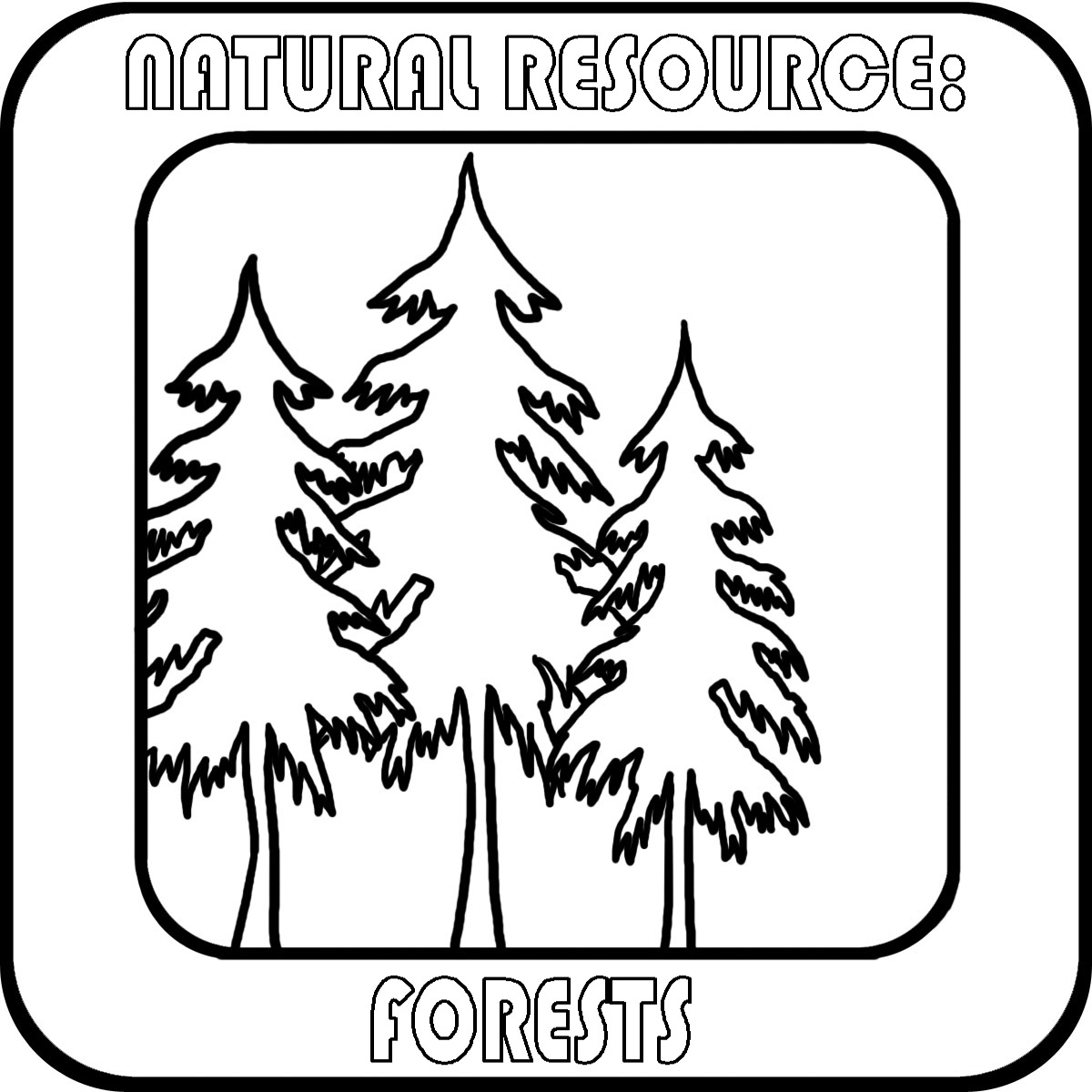 Natural Forest Clipart