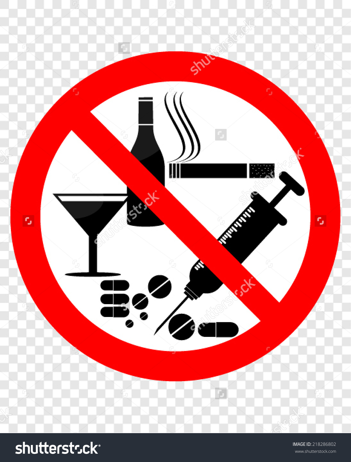 No To Drugs Clipart 20 Free Cliparts