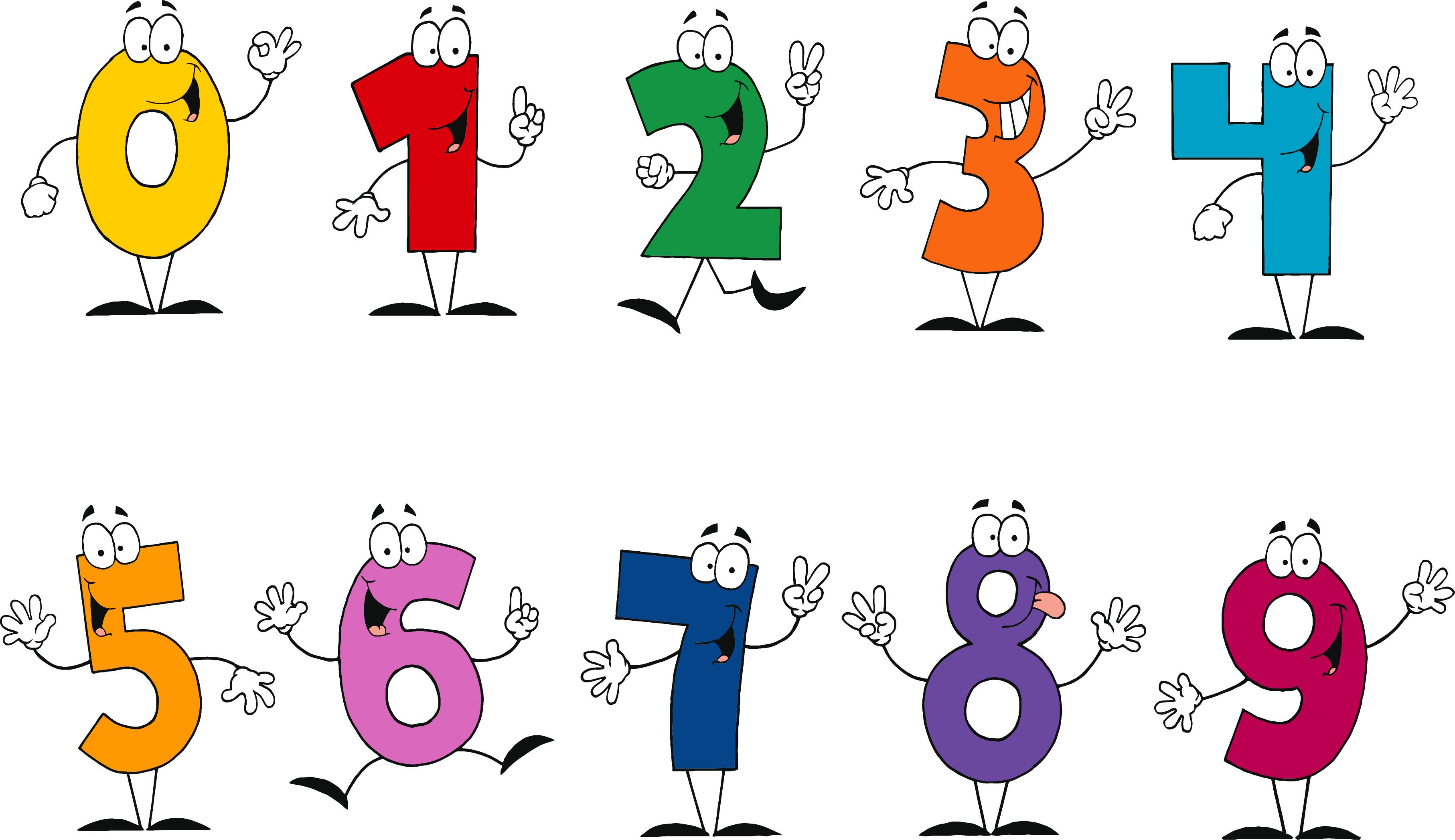 Number 1 10 Clipart