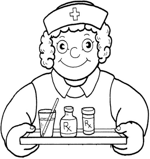 nurses clipart free color pages 20 free Cliparts