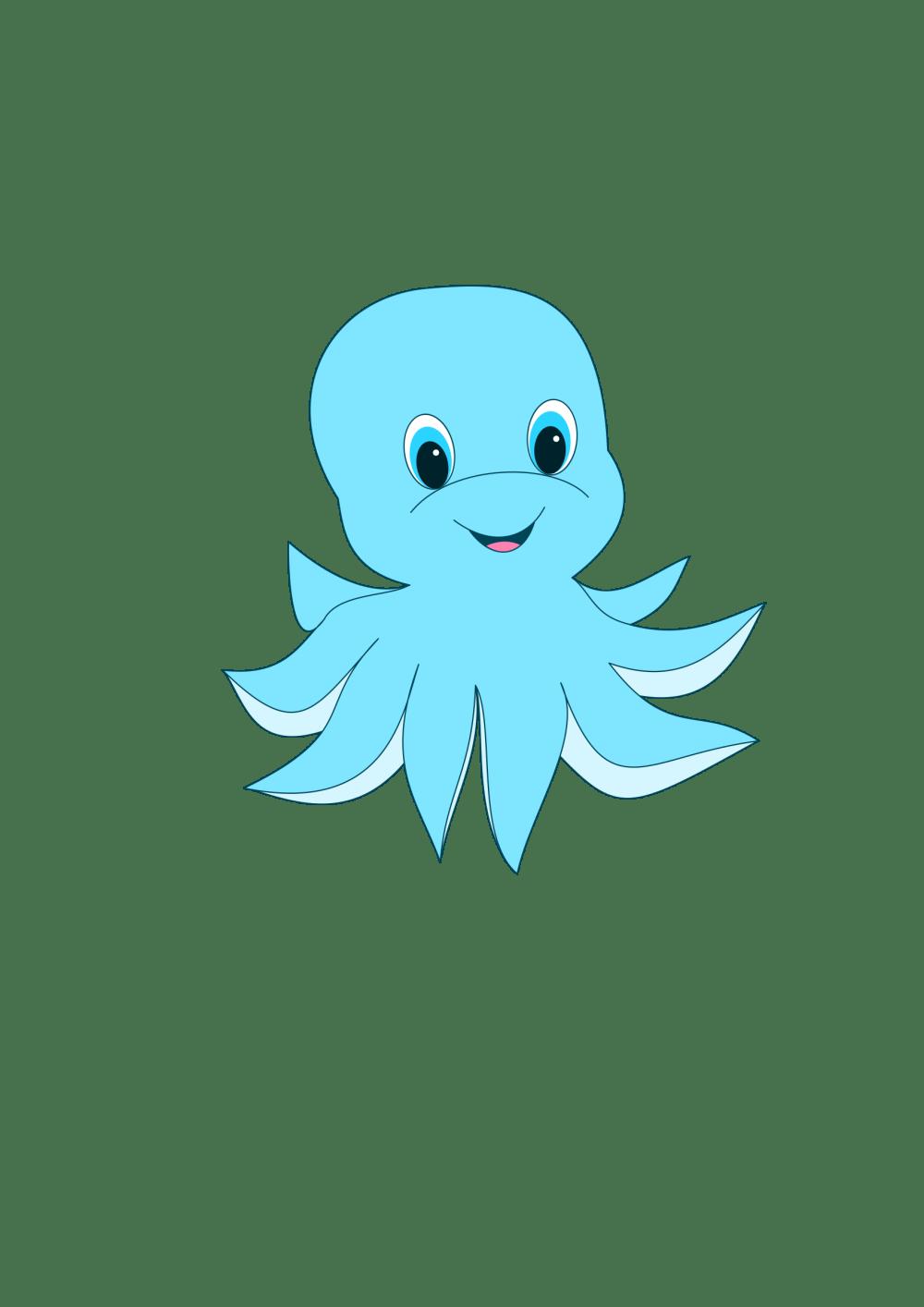 medium resolution of clipart cute octopus