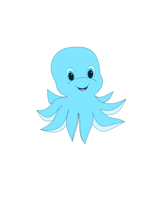 small resolution of clipart cute octopus