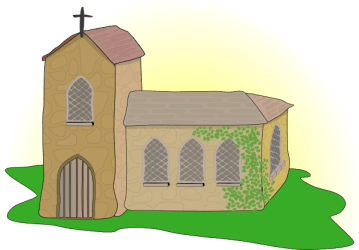 clipart church gereja clip country vector clipground medieval clker royalty