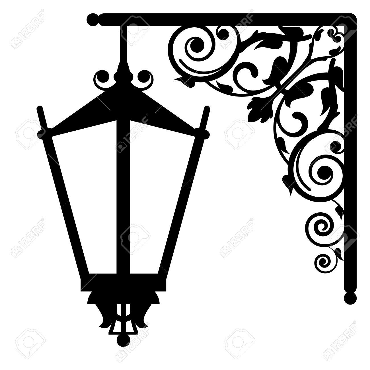 Old Lantern Clipart