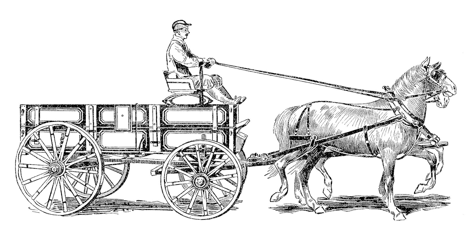 Old Wagon Clipart 20 Free Cliparts