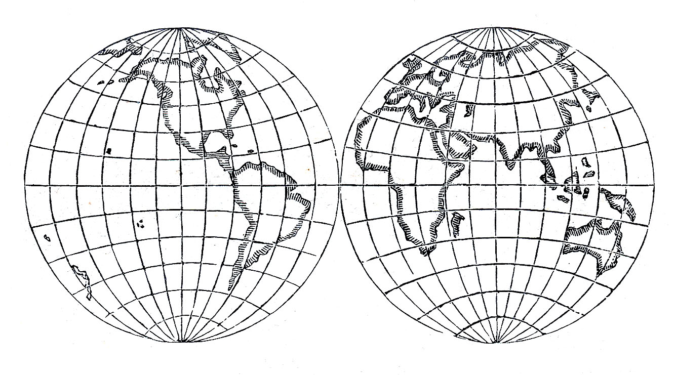 hight resolution of old world globe clipart