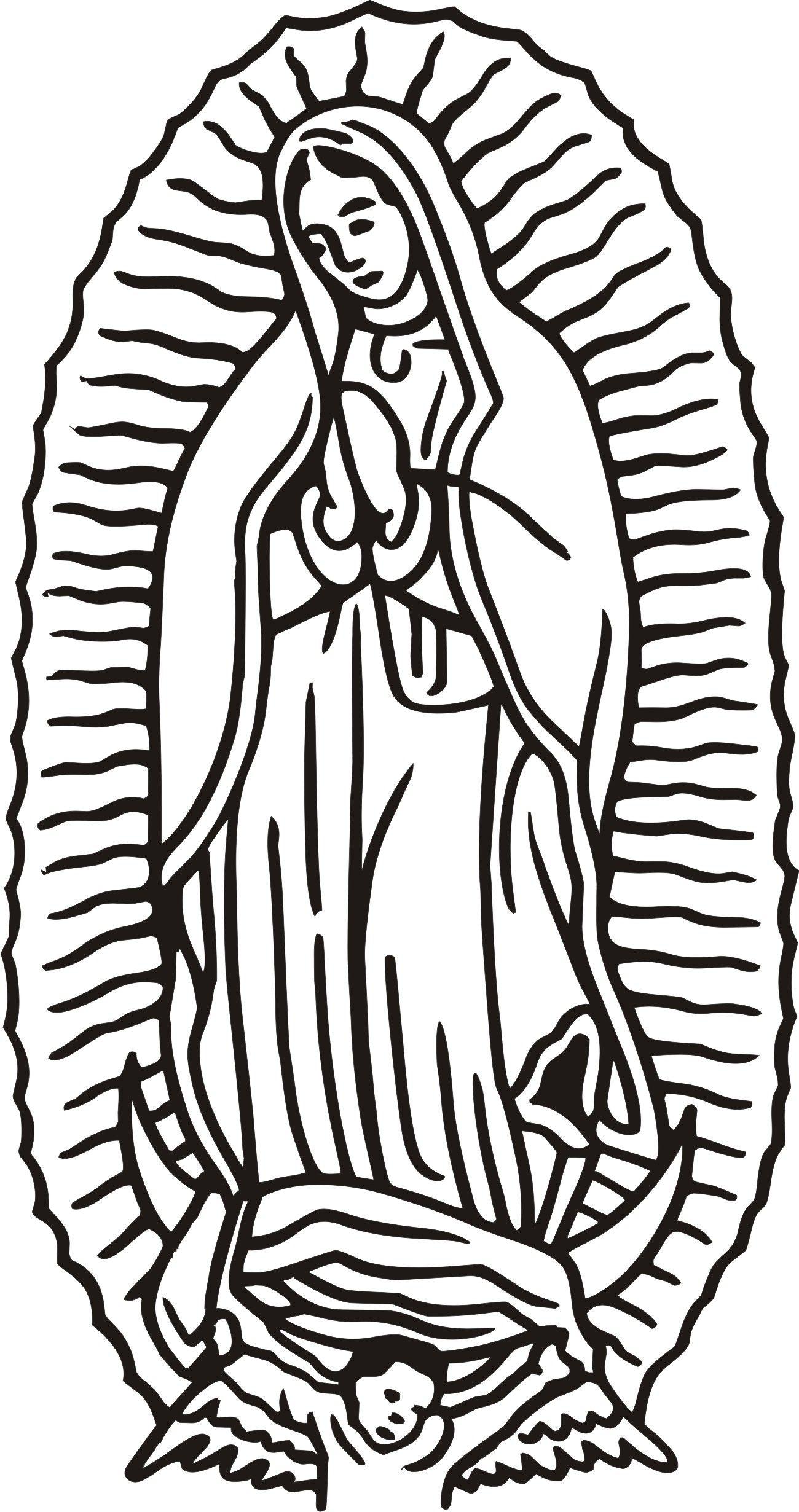 Our Lady Of Guadalupe Clipart Color 20 Free Cliparts
