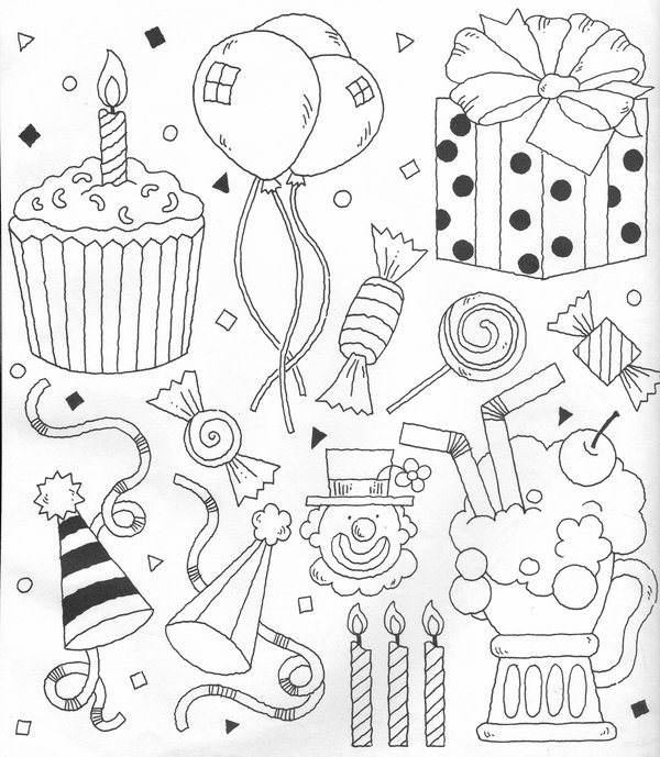 party banner clipart black and white 20 free Cliparts