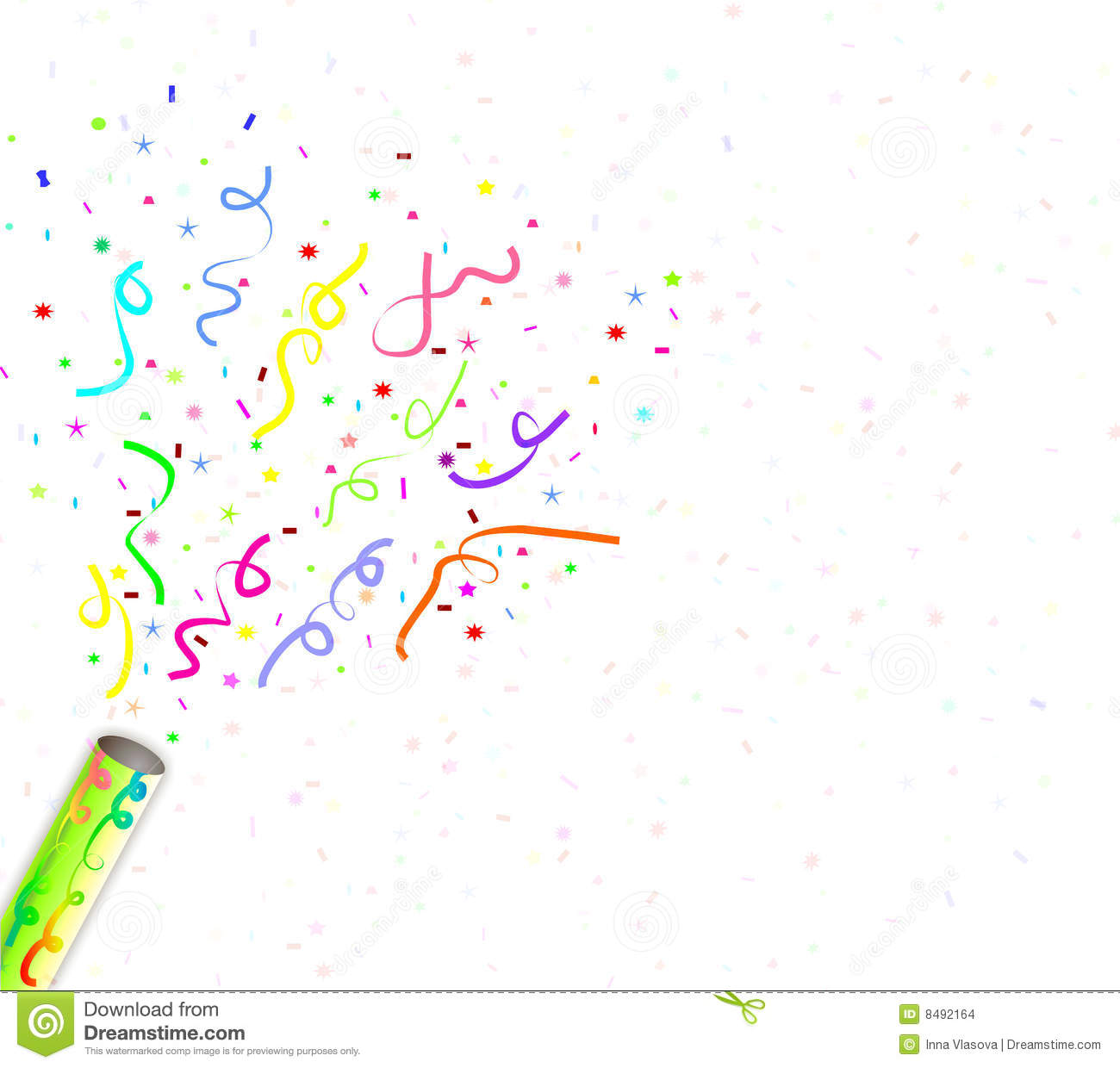 hight resolution of confetti fireworks clipart