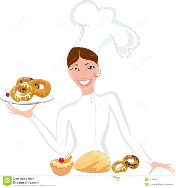 Pastry Chef Clipart - Clipground