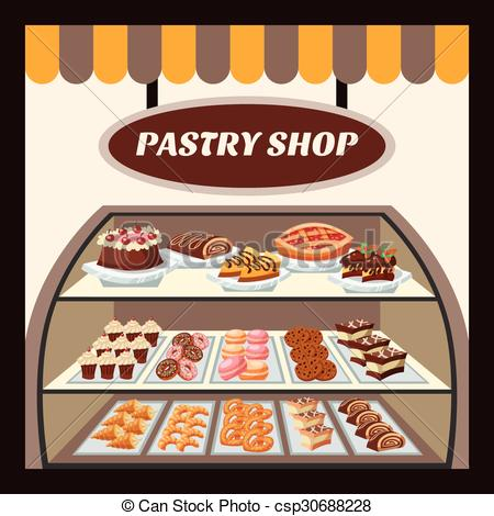 Pastry shops clipart  Clipground