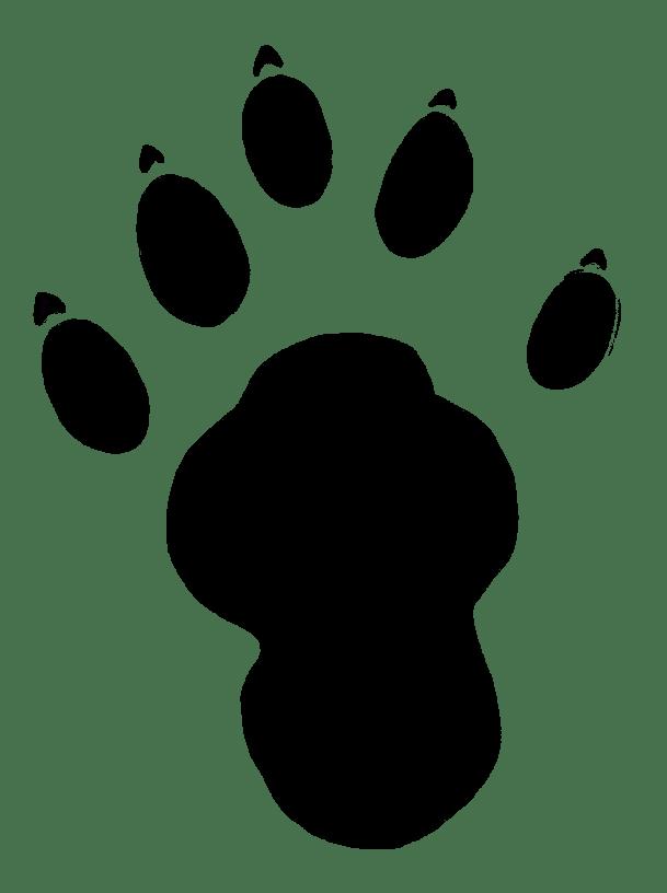 Clip Art Bear Paw Border