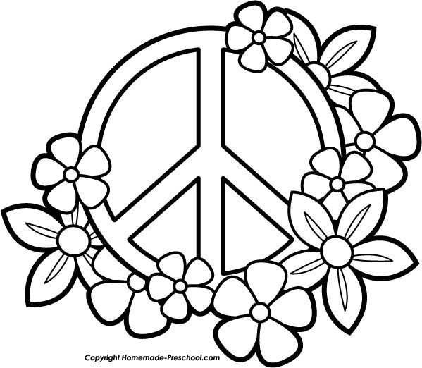 peace fingers flag coloring clipart 20 free Cliparts