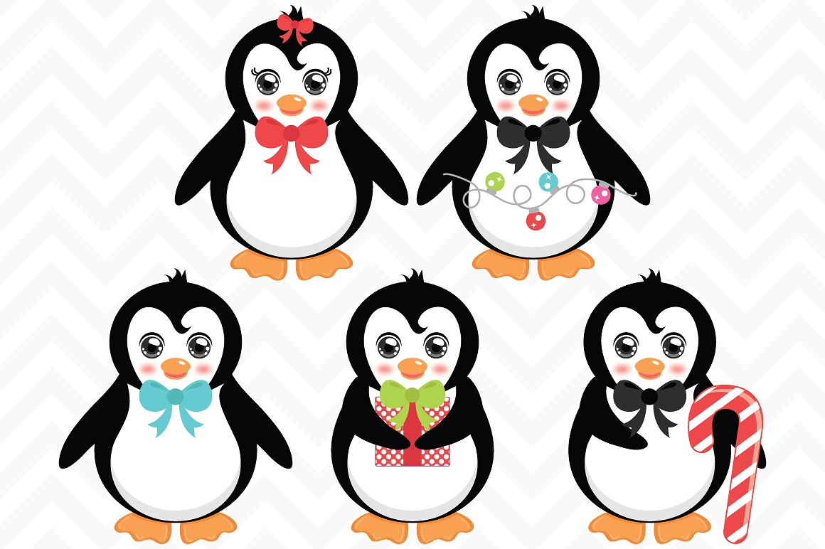 Penguin Christmas Clipart 20 Free Cliparts