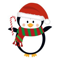 penguin christmas clipart cute clipground