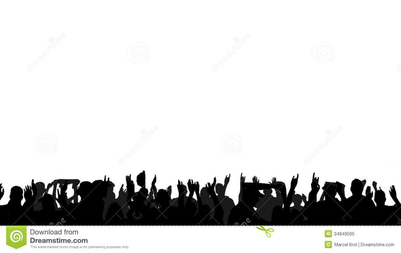 hight resolution of people clapping clipart 29