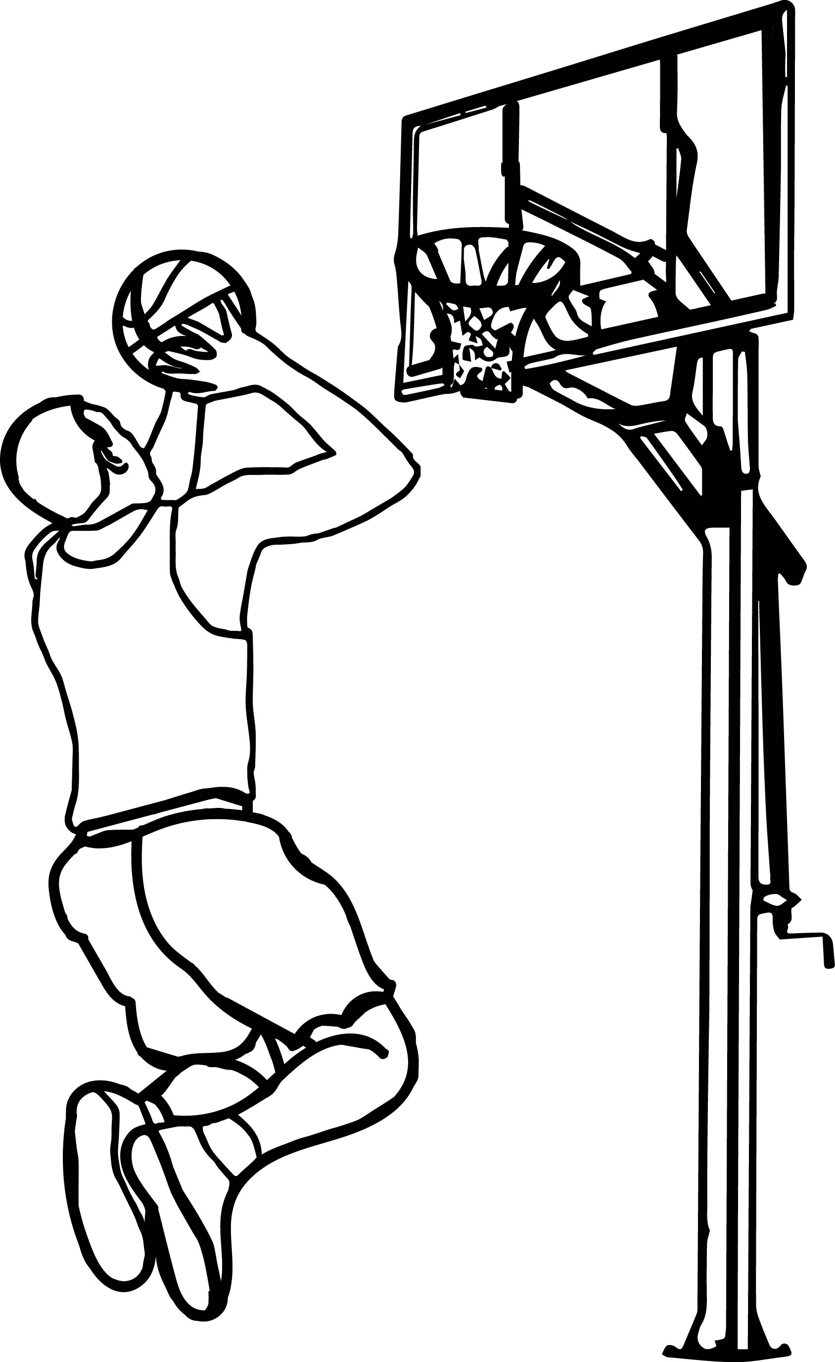 People Playing Basketball Clipart 20 Free Cliparts