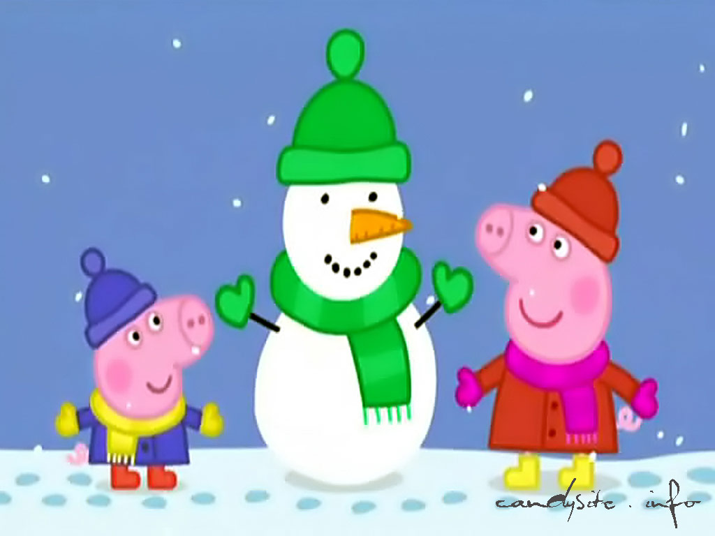 Peppa Pig Christmas Clipart Clipground