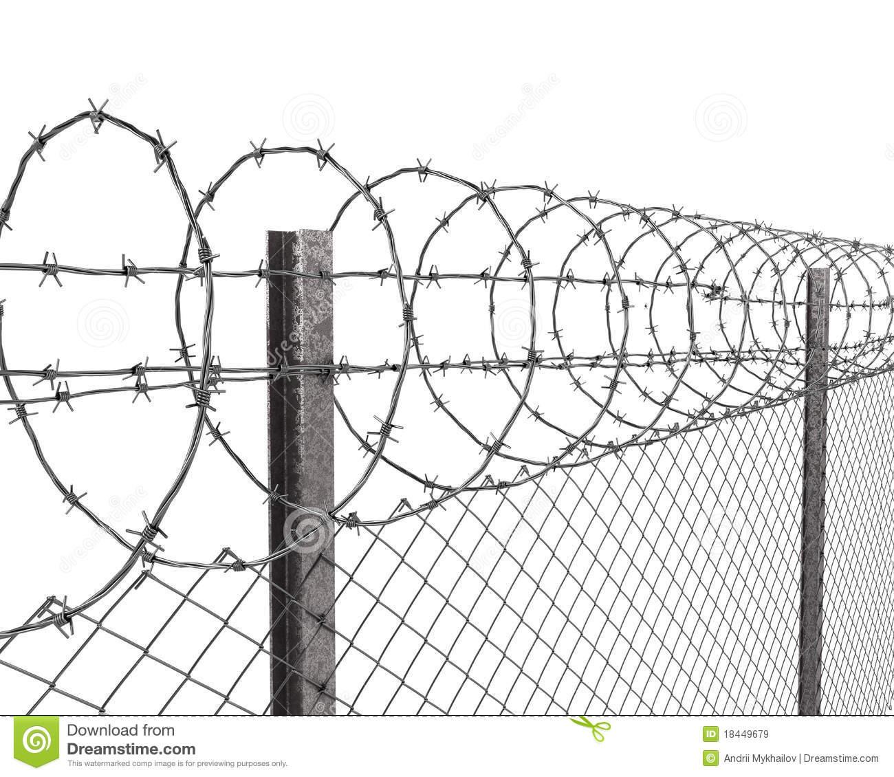 Perimeter Fence Clipart