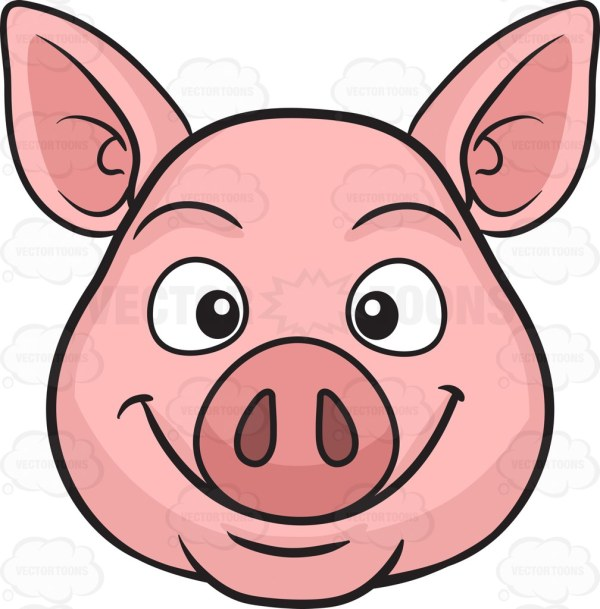 pig's ear clipart - clipground