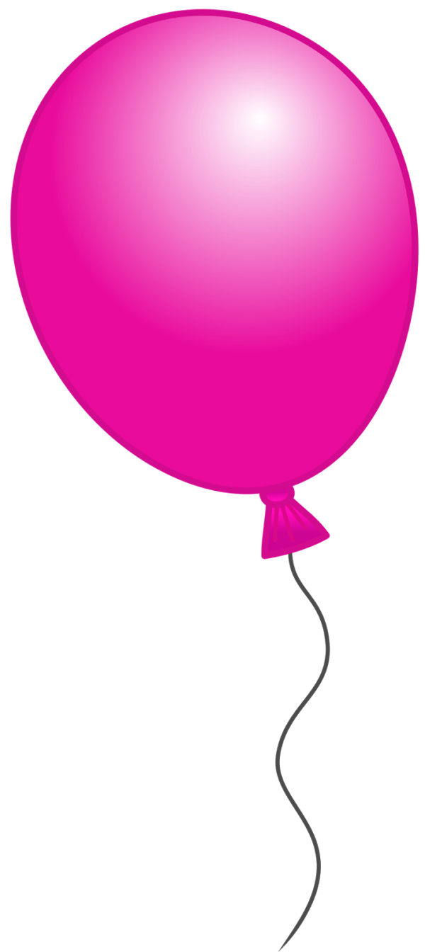 pink balloon clipart 20 free cliparts