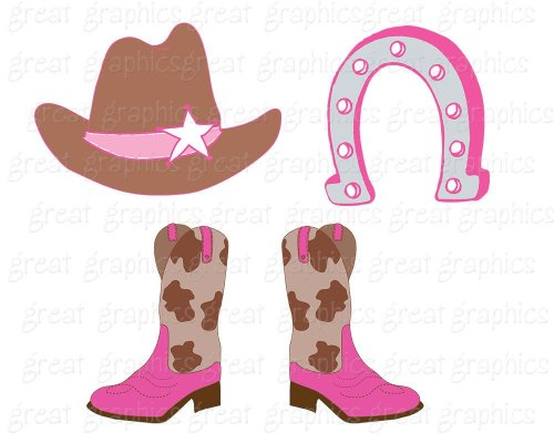 small resolution of cowboy clipart cowgirl clip art digital clip art pink cowgirl