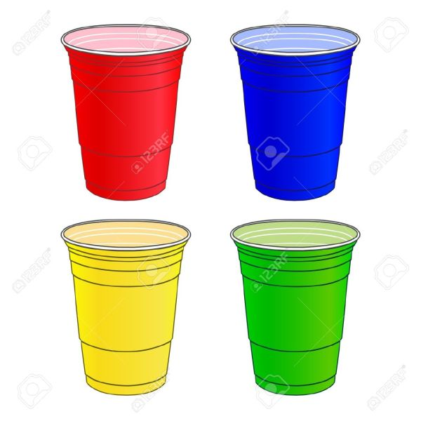 plastic cups clipart - clipground