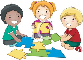 Cute Toddlers Playing Cartoon Wallpaper Playtime Clipart Clipground