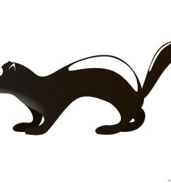 badger clipart design [ 999 x 828 Pixel ]