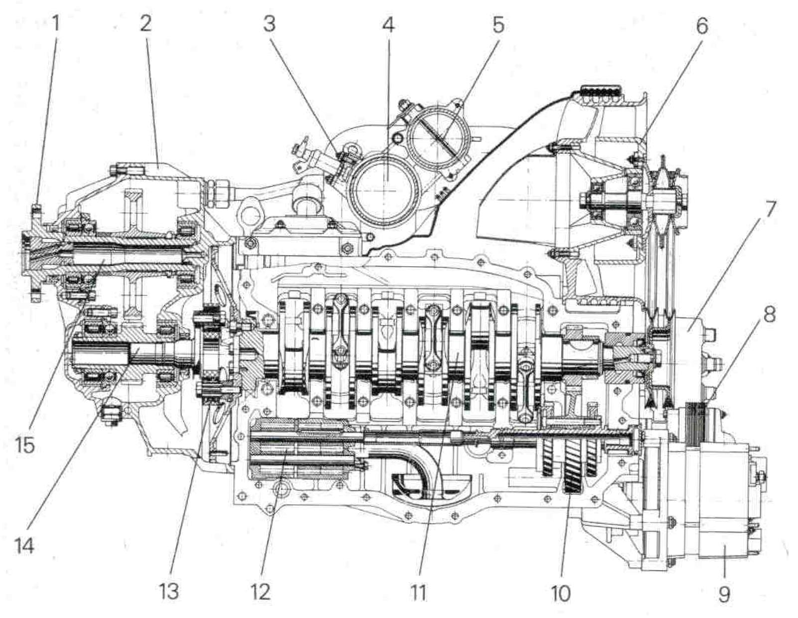 Porsche Aircraft Engine Pfm Clipart